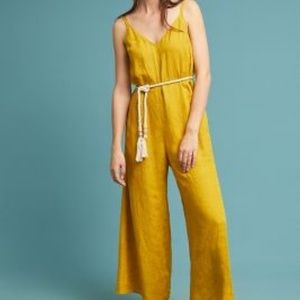 8a2807e2195 Anthropologie Pants - Jetsetter Cropped Jumpsuit